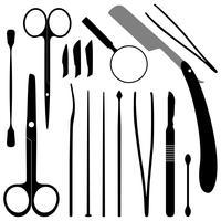 Medische instrumenten vector