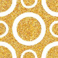 Abstracte gouden stof naadloze achtergrond. vector