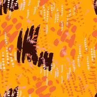 Safari patroon op gestreepte achtergrond