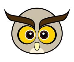 Cute Owl Vector. vector