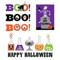 Halloween grafische clipart