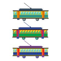 Tram. tram plat