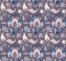 Indian National paisley ornament voor katoen, linnen stoffen.