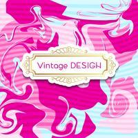 Roze spandoeken met een shabby chic design