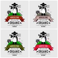 Boer logo ontwerp.