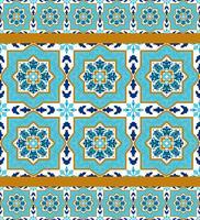 Portugese azulejo. Witte en blauwe patronen.