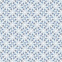 Abstract naadloos patroon in Marokkaanse stijl vector