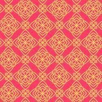 Vierkant patroonpaneel voor lasersnijden met mandala's. vector