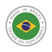 Gemaakt in Brazilië vlagpictogram.