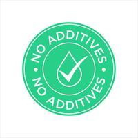 Additieven gratis. vector