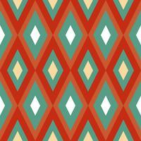 Naadloze textuur met geometrisch ornament.