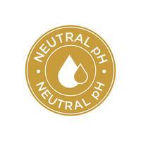 Neutraal pH-pictogram vector