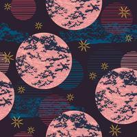 Abstract kosmisch naadloos patroon.