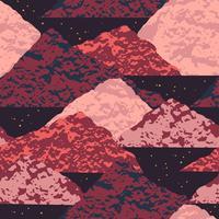 Abstract kosmisch naadloos patroon. vector