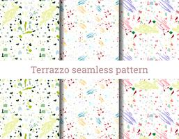 Terrazzo naadloos patroon