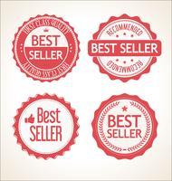 Bestseller retro vintage badge en labels-collectie