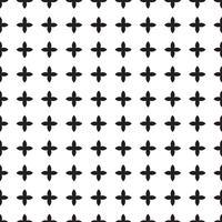 Universeel zwart en wit naadloos patroon (tegels).