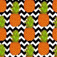 Tropische ananassen achtergrond
