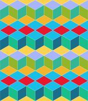 Geometrisch naadloos patroon