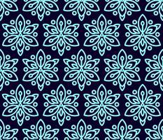 Naadloos patroon met clematissen. vector