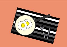 Gratis eieren Vector