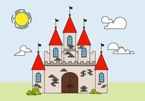 Gratis kasteel Vector