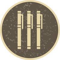 Vector markeringen pictogram