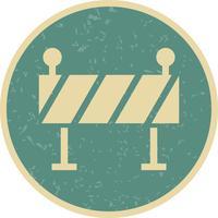 Barrière Vector Icon