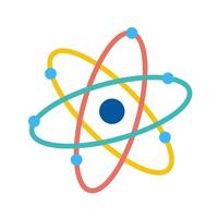 Vector Atoom pictogram