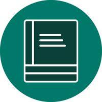 Vector boeken pictogram