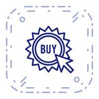 Vector kopen pictogram
