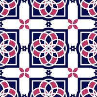 Portugese azulejotegels. Naadloze patronen.