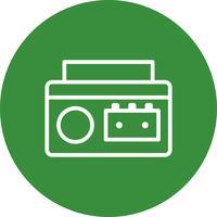 Cassette Speler Vector Icon