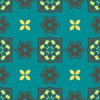 Portugese azulejotegels. Naadloze patronen. vector