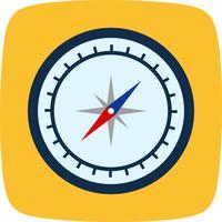 Kompas Vector pictogram