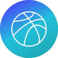 Vector basketbal pictogram