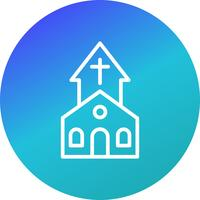 Kerk Vector Icon