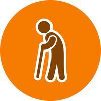 Pensionering Vector Icon