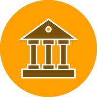 vector educatieve instituut pictogram