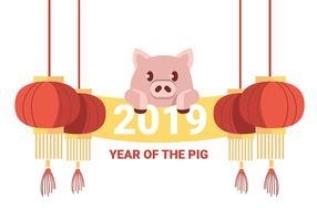 Chinees Nieuwjaar vector
