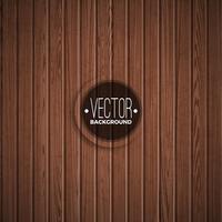 Vector houten textuurontwerp als achtergrond. Natuurlijke donkere vintage houten illustratie.