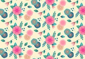 Vintage bloemen achtergrond vector