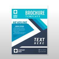 Zakelijke brochureontwerp vector