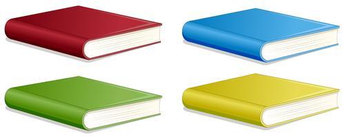 Set van verschillende boeken