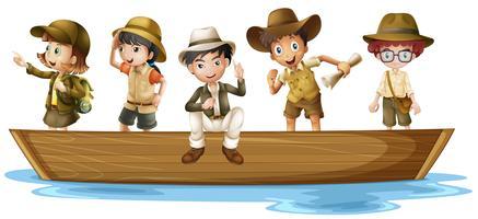 Jonge ontdekkingsreizigers