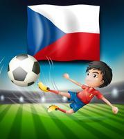 Voetbal Tsjechische republiek team vector