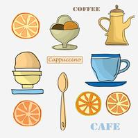 Set menu-items vector