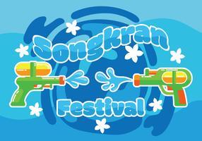 Songkran Festival Illustratie
