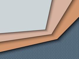Kleurenvel en label abstracte achtergrond. vector