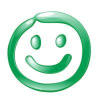 Smiley pictogram vector ontwerp illustratie sjabloon